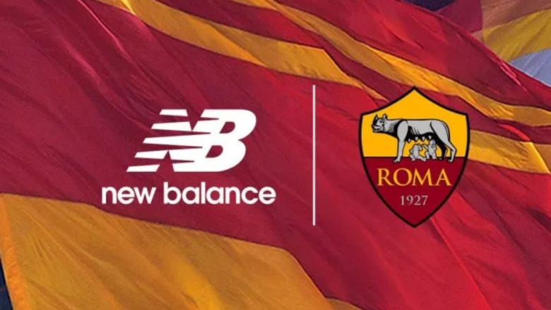 New Balance strike deal to become AS Roma's new kit manufacturer